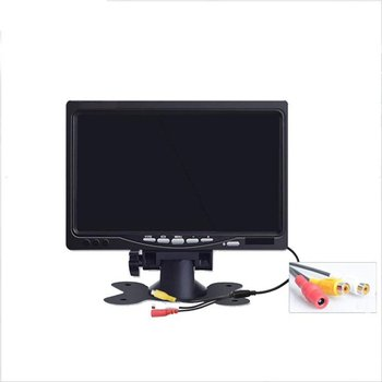 """7 """"TFT LCD A Colori HD Dello Schermo del Monitor per Auto CCTV Inversione di Retrovisione di Backup Della Macchina Fotografica-in Monitor per auto da Automobili e motocicli su"""