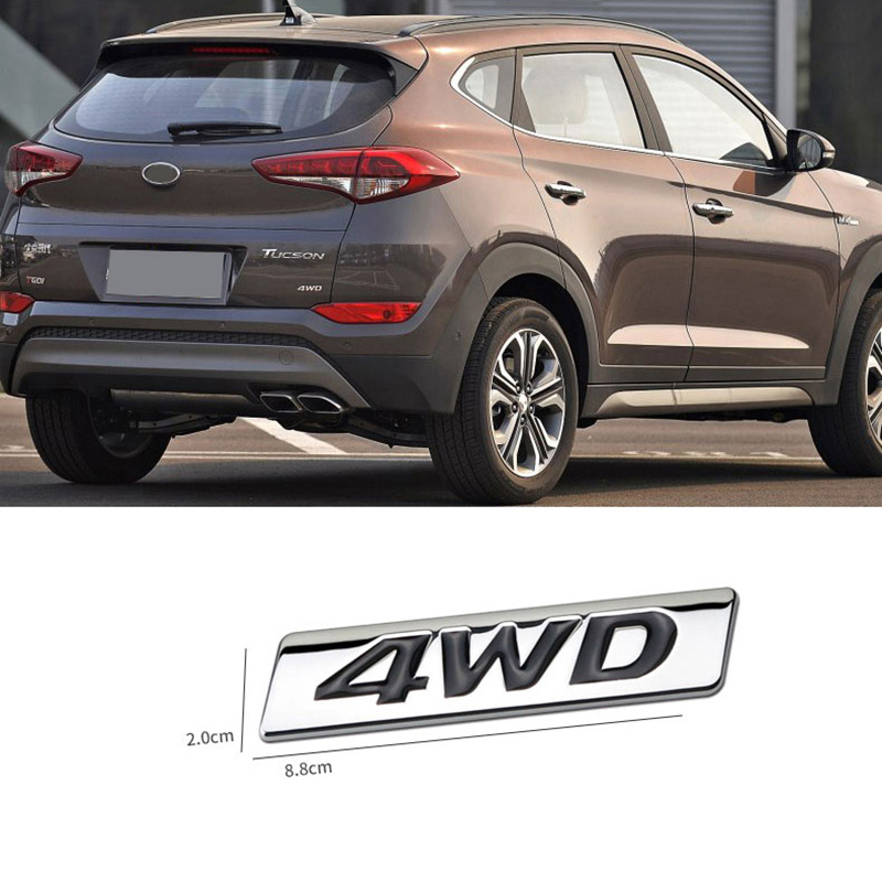 Front Rear Streeing Wheel Emblem Full Set For Hyundai Veracruz 2010~2015