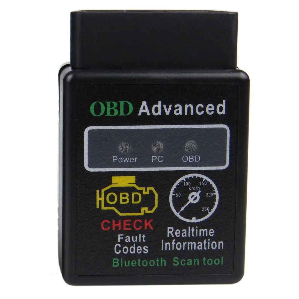 <font><b>Elm327</b></font> <font><b>Bluetooth</b></font> OBD2 Car Diagnostic Scanner For Android ELM 327 V1.5 V <font><b>1.5</b></font> OBDII Adaptor Auto Code Reader OBD 2 Diagnostic Tool image