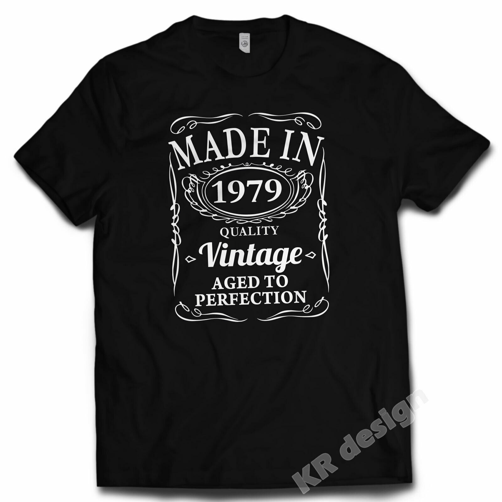40 ° Birthday <font><b>Vintage</b></font> <font><b>1979</b></font> T-Shirt Aged er Perfection Gift 40 years- show original title The New image