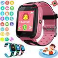 Kuulee Детские Смарт-часы телефон gps Детские умные часы водонепроницаемые анти-потеря SIM трекер местоположения умные часы голосовой вызов