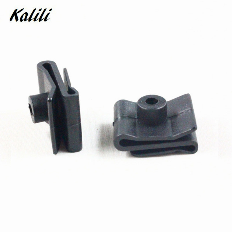 500x Car quot U quot Nut fender Leaves board liner clip lined snaps Fastener retainer for toyota Lexus Accessory in Auto Fastener amp Clip from Automobiles amp Motorcycles