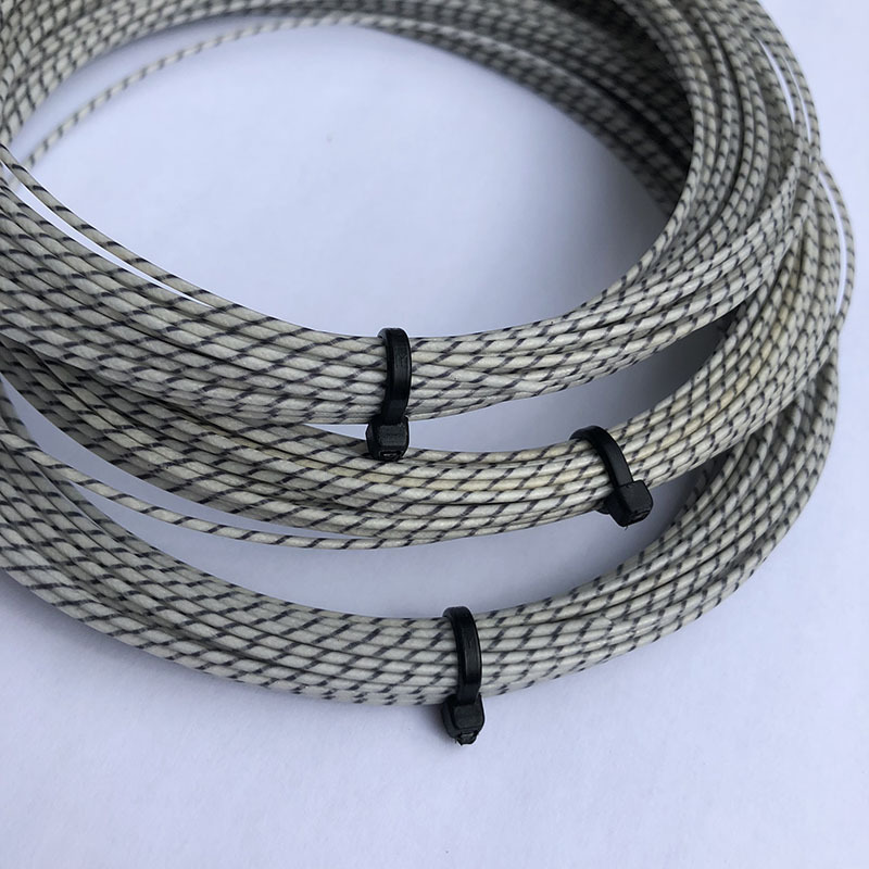 Zarsia Taiwan Import Tennis Racket Single 12 M Nylon Cord Ultra-stretch High Pound