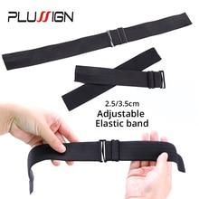 Elastic-Bands Satin Black-Color Wide for Wig-Making Top-Quality Choose