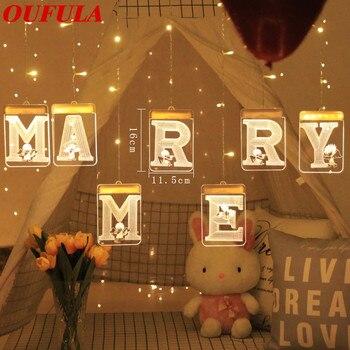 USB 3D Valentine's Day LED Holiday Lights Night  Window Decoration Lights Love Marry Girlfriend Boyfriend Gifts Toys Lights