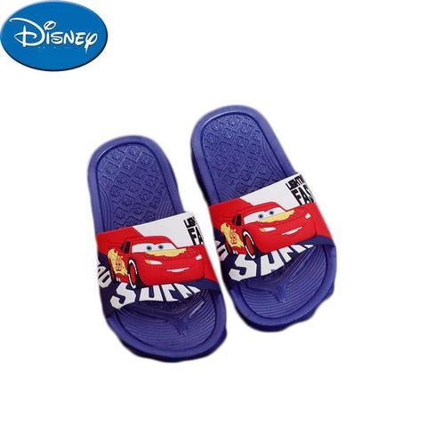 novo verao sandalias das criancas do relampago mcqueen da disney cas originais chinelos antiderrapantes chinelos