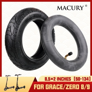 8.5x2 inch Pneumatic Tire And Inner Tube for Electric Scooter Grace Zero 8 9 Zero8 Zero9 T8 T9 8.5 Inches Marucy Inflatable Tyre(China)