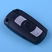 DWCX 315MHz Car Smart Remote Control Key 3 Button Fit For BMW 1 3 5 6 7 Series X5 X6 Z4 whatskey 3 button remote control for bmw 315 434 315lp 868 mhz id46 1 3 5 6 7 series x5 x6 z4 e60 e82 e87 e90