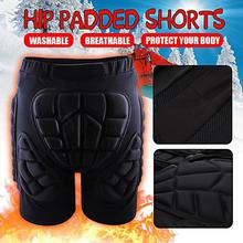 Спорт на открытом воздухе Катание на лыжах скейтборд Защитное снаряжение детские взрослые подгузники роликовые коньки анти-осенние штаны хип-суставы брюки