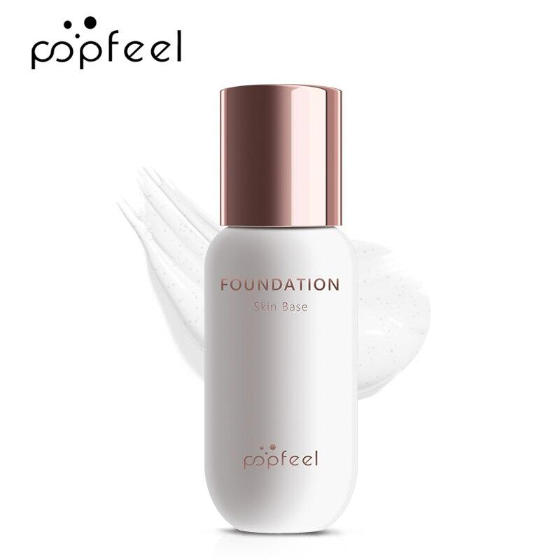 POPFEEL 30 Ml Face Foundation Color Changing Liquid Foundation Oil-control Primer Makeup Base Cream
