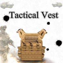 Army Tactical Wargame Armor Vest Military Molle Breathable Airsoft Paintball Men Shooting Combat Vests Multicam