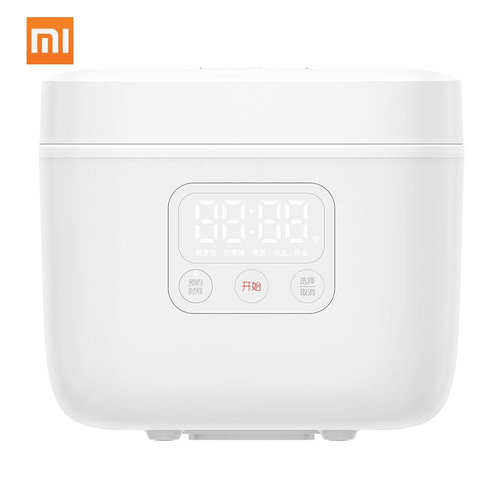 Миниатюрная электрическая рисоварка XIAOMI MIJIA, Умная Автоматическая кухонная плита, на 1-3 человек, 1,6 л, 220 В, многофункциональная Светодиодная ...