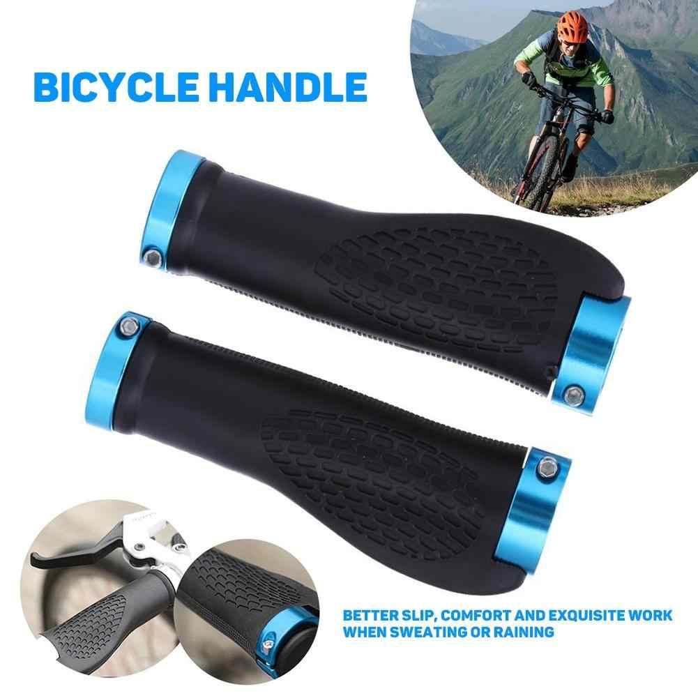 1 Pair Bike Bicycle Cycling Mountain MTB Handlebar Rubber Anti-slip Handle Grips