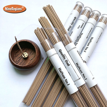 10g 40pcs Pure Natural incenso HaiNan China oud wood incense sticks aroma home fragrance aromatizador de ambiente image
