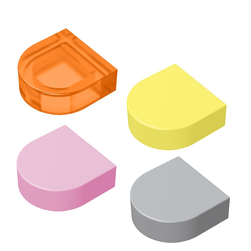 20pcs/50pcs Building Block Parts Diy Toy Assembles Particles 1x1 Bricks Parts Educational Creative Gift Toys