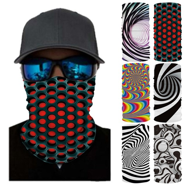 Mask Head Scarf Neck Cover With Safety Filter 3