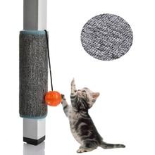 Когтеточка коврик кошка петля ковер скребок внутренняя мебель для дома стол стул диван протектор для ног игрушка для домашних животных