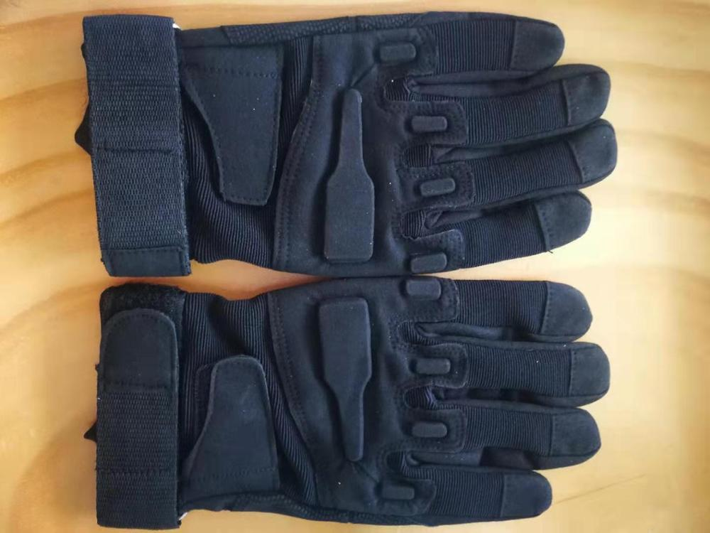 Outdoor Tactics All Finger Riding Gloves XL ARGE Color  Black