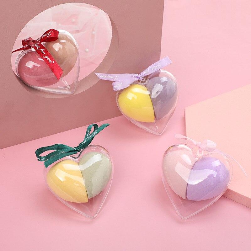 2pcs Make Up Sponge Set Beauty Sponges Puff Water Drop Shape Soft Blending Beauty Egg Cosmetic Makeup Tools Accessories