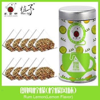 цена на 3g*10pcs Rum Lemon(Lemon Flavor) Skin Care Mask DIY Raw Materials Tea Bag Detox Tea Acne Treatment  Anti-Aging  Moisturizing
