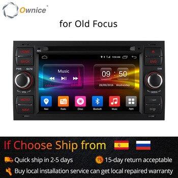 Автомобильный DVD плеер Ownice C500, Android 6,0, 8 ядер, для Ford Mondeo Focus Transit, GPS, Navi, радио, поддержка 4G LTE