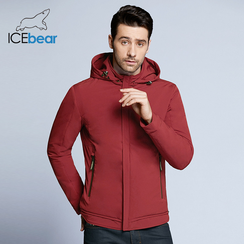 ICEbear 2020 New Spring Men's Jacket High-quality Man Casual Coat Padded Loose Men's Brand Jackets MWC18099D