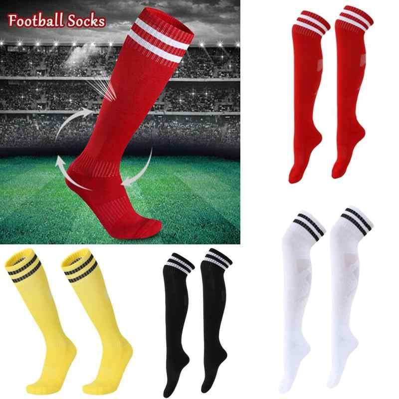 1 Pair Athletic Sport Football Soccer Long Socks Over Knee High Sock Stretch