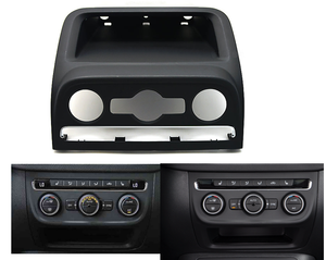 automatic air conditioning panel box Black Front Dashboard Seat Climate Control Panel Lower Stowage Box For VW PQ35 Tiguan 2010+