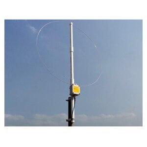 Image 1 - K 180WLA aktif küçük döngü kısa dalga anten genişbant alıcı anten 0.1MHz 180MHz SDR radyo anteni