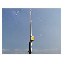 K 180WLA حلقة صغيرة نشطة موجة قصيرة هوائي النطاق العريض استقبال هوائي 0.1MHz 180MHz SDR راديو هوائي