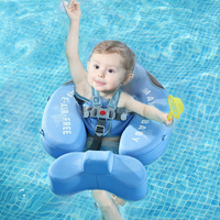 Non-Inflatable Baby Floater Infant Waist Swimming Ring Float Bathtub Pool Accessories Toys Newborn Swimmers Swim Floats Trainer