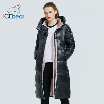 ICEbear 2020 new product women s parka high quality fashion long coat winter high quality