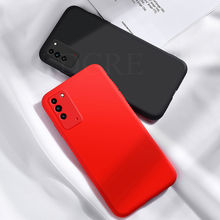 For Honor X10 Max Case Liquid Soft Silicone Rubber Shockproof Case For Honor 30S Cover Honor 9 9C 9S 9X Honor V30 Play 4 Pro 4T