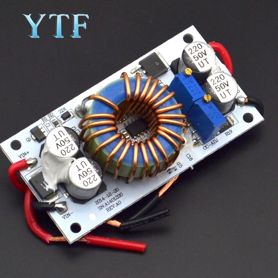 Aluminum Plate 250W High Power Step-Up Constant Current Voltage LED Driver Power Supply For Car Laptop