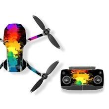 6 шт. Mavic Mini Drone защитная пленка ПВХ наклейки водонепроницаемые царапинам наклейки покрытие кожи для DJI Mavic Mini АКСЕССУАРЫ