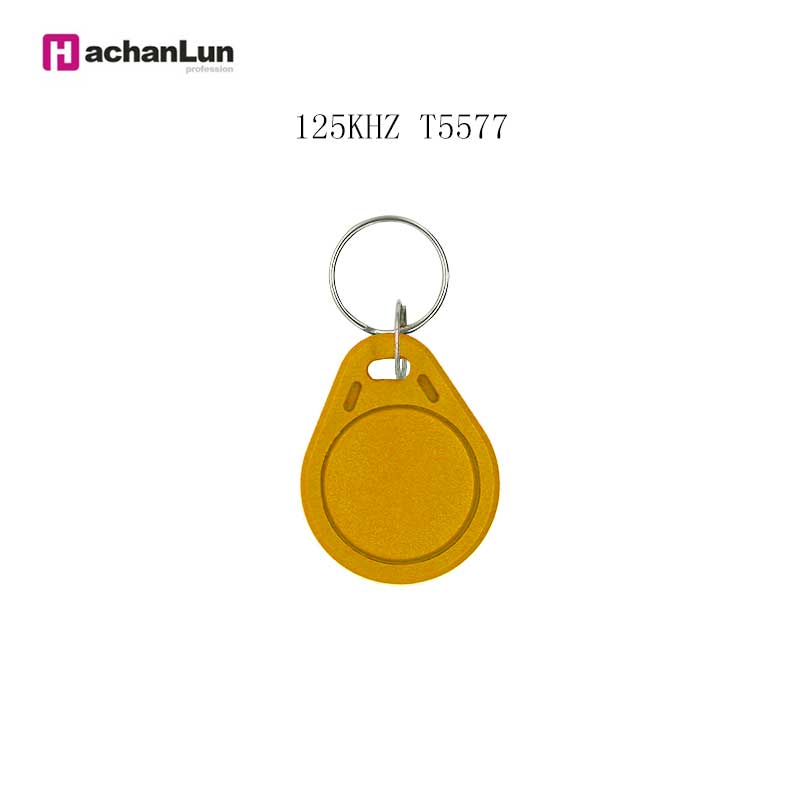 5PCS 125Khz Rewritable Copy Access Control Keychain EM4305 T5577 Badge Token RFID Smart Chip Clone Induction Tag