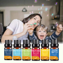 6pcs/Set Pure Essential Oils For Aromatherapy Diffusers Organic Natural Essential Oil Body Relieve Stress Oil Skin Care цена и фото