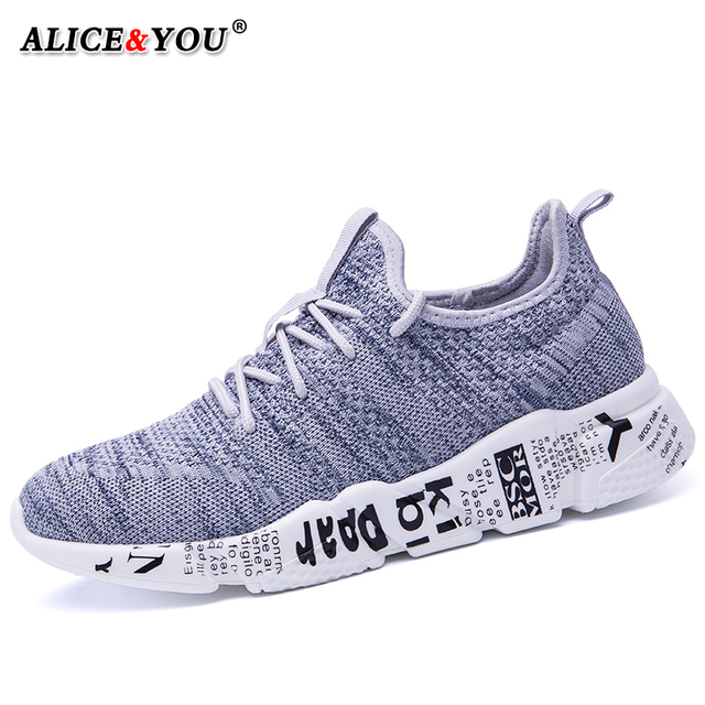 Casual Shoes Men Sneakers Comfortable Fashion Mesh Outdoor Walking Jogging Shoes New Lace-up Flat Male Footwear Zapatos Hombre 2