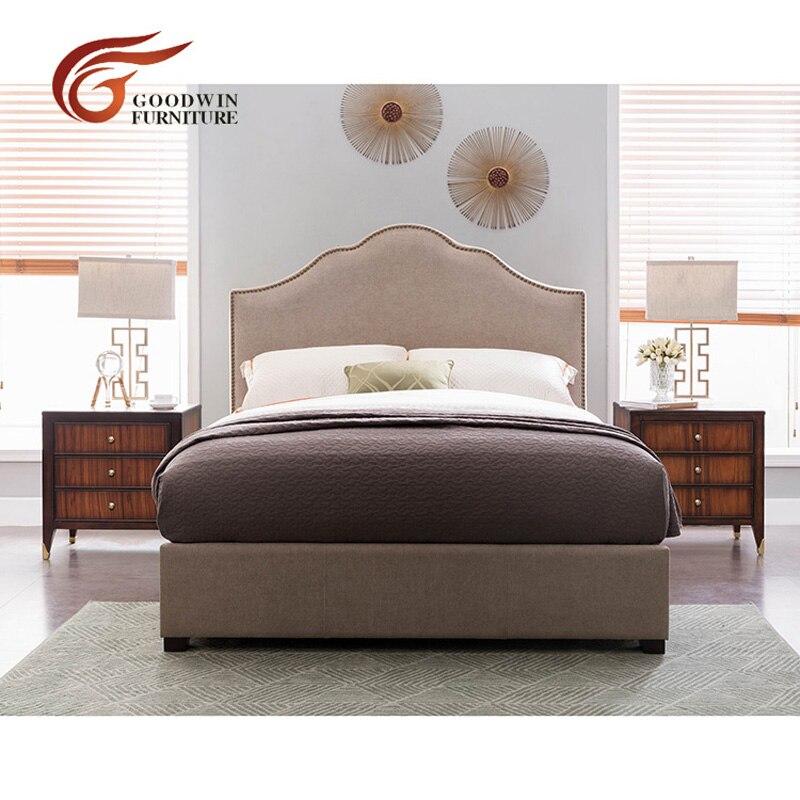 € 295.31 |Ensemble de meubles de chambre à coucher moderne de photos de lit  double en bois et tables de chevet et meuble de télévision pour chambre ...