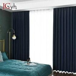 Bling cortinas con estrellas para la ventana de la sala de estar cortinas sólidas para cortinas de dormitorio cortinas gruesas persianas Shaiding Screen 85%
