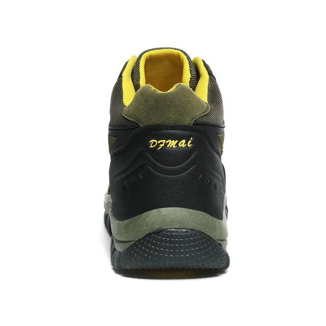 Botas de Trekking impermeables para hombre y mujer calzado de escalada de monta a suela de