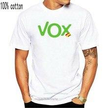 Camiseta-Roly Con Logo Vox Espa? Casual Camiseta