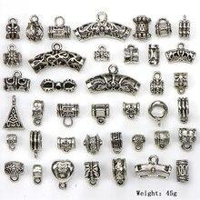 Wholesale Price 40pcs/lot Big Hole Flower Metal Zinc Alloy b