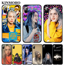 KINMOHO Bad Guy Billie Eilish Phone Case for iPhone 7 6 6s 8 Plus For X XR XS MAX 5S SE 7Plus Black Soft TPU Cover