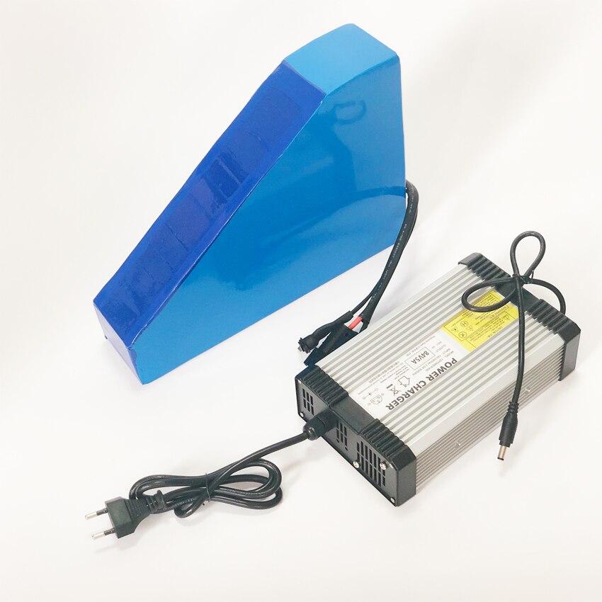 Aucune taxe 72V 21Ah Lithium ion eBike batterie Pack 3000W Scooter électrique batterie avec 50A BMS 84v 5A chargeur