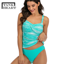 Женский купальный костюм из двух предметов, размеры xxl