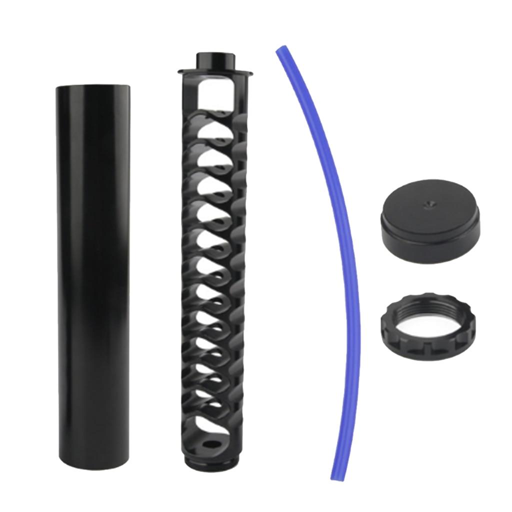 6in 1/2 ''-28 топливный фильтр с трубкой и концевыми колпачками для NAPA 4003 WIX 24003 Black