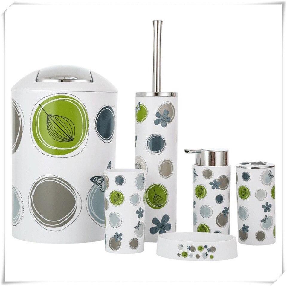 Bathroom Accessories Set e Circle