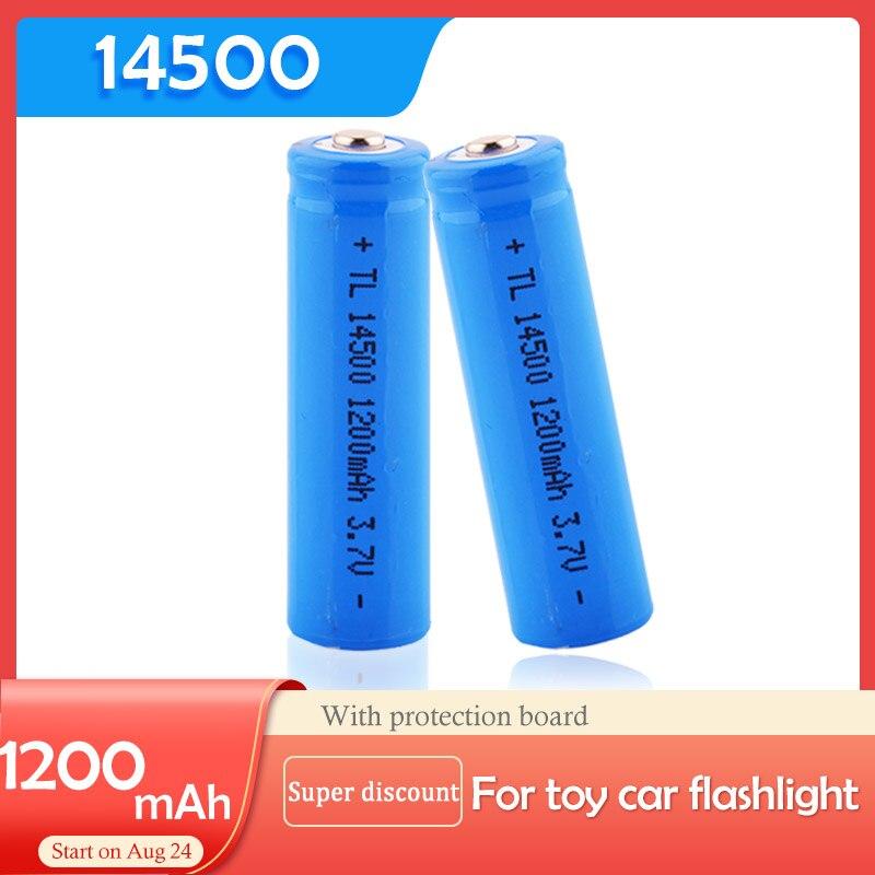 2 шт./лот EastFire AA 14500 1200 мАч 3,7 В литий-ионные аккумуляторы и светодиодный фонарик, бесплатная доставка