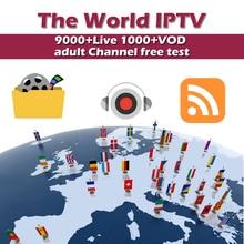 лучшая цена IPTV subscription world IPTV Arab France Spain IPTV Italy Arabic USA Nordic Albania Dutch IPTV M3U MAG android IOS smart tv box